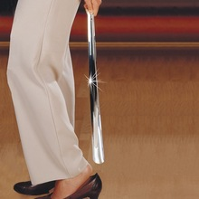 stainless steel long shoe horn for independent living