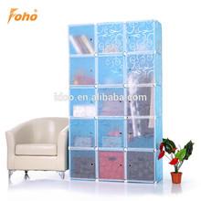 Plastic cheap Diy cube storage dresser for grocery storage FH-AL0053-15