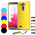 For LG G3 Ultra Thin Hard Back Hybrid Shell Case Cover With Gift Screen Protector & Stylus Free Shipping