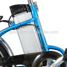 LiFePO4 Electric Bike Battery Pack, 24V 10Ah, 36V 9/10Ah, 48V 10/12Ah Lithium-ion