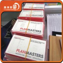 Custom business letterpress