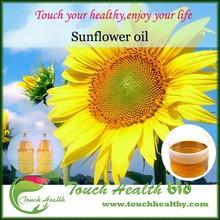 Touchhealthy girasol suministro de aceite de cocina / girasol refinado precio del petróleo / aceite de girasol fábrica