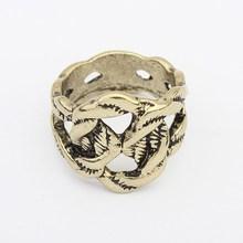 China Factory Fashion Vintage Zinc Alloy Finger Ring