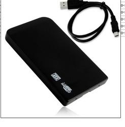 Slim USB 3.0 External Hard Disk Enclosure 2.5 inch SATA HDD Case For Laptop