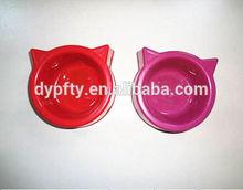 china plastic pet water feeding bowl