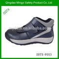 negro de seguridad zapatos para diabéticos trabajo calzado de la mujer