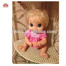 icti certificada costume fazer vinil boneca baby alive