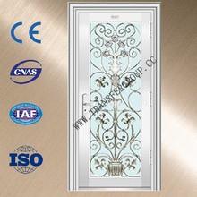 Exterior stainless steel door residential
