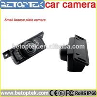 7 IR LEDS Small License Plate Camera CCD Night Vision Camera