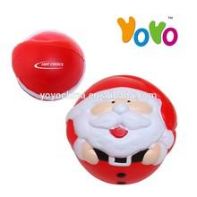 YOYO Customized Logo Promotion PU Christmas Stress Ball/Stress Balls