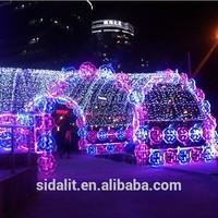 Fantastic 50PCS peach flowers outdoor christmas laser light show