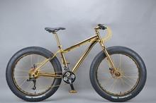 Luxurious 18K 26 inch fat bike used bmx bike parts
