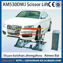 2015 best quality scissor car lift bridge used for sale at low price