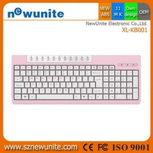New style new arrival wireless multimedia keyboard mouse