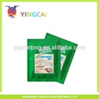 resist high temperature food grade plastic retort bag for food packaging
