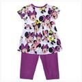 2015 novo bebê verão vestido meninas leggings& 2 pcs crianças terno da marca 100 algodão casual roupas da moda roupas para meninas jogos
