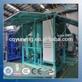 Usado transformador de vacío de aislamiento de aceite máquina de la purificación del sistema de reciclaje de aceite