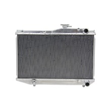 All Aluminum Auto Radiator For TOYOTA AE86 COROLLA AE86 4AGE GTS 83-87 52mm MT