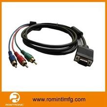 Custom RCA Male to VGA Female Cable for Monitor