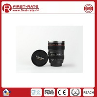 Well Sold Promotion Gift 1:1 Simulation Camera Lens Coffee Mug With Stainless Steel Interior