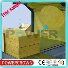 waterproof rock wool fiber board thermal Insulation