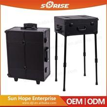 Sunrise Multi-Function Metal Makeup Case Professional Beauty Box Makeup Vanity Case