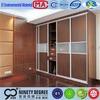 Moistureproof panel 2014 high quality modern wardrobe sliding doors onlline MDF board closet