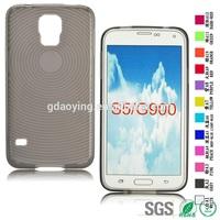 Fingerprint TPU soft case customized tpu back case for Samsung Galaxy S5 G900