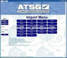 el más reciente auto atsg transmisiones de grupo de servicios deinformación de reparación de reparación manuales de diagnósticos de servicio softwrare v2012 versión