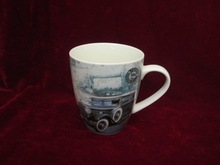 country style ceramic coffee mugs logo