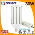 80w e40ip64 alta luminosidade da lâmpada led milho substituir a lâmpada de mercúrio