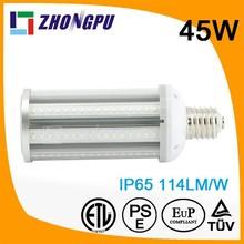 45W E40 E27 IP64 high luminous led corn lamp replace mercury lamp