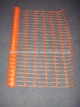 Plastic Orange Safety fence netting / barrier fencing mesh