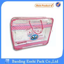 plastic packaging bag for queen size blanket