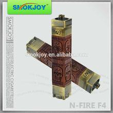 Smokjoy N Fire max Newest Updated Wooden E Cigarette EGO Vaporizer Pen N Fire F4 battery