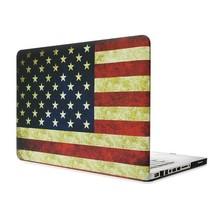 Flag design pc hard case for MacBook pro case