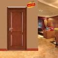Diseño Popular de madera de teca doble diseño de la puerta