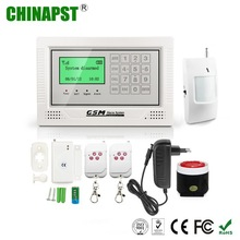 10 Wireless & 4 Wired Zones wholesale adapter alarm with remote control PST-GA104TCQ