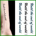 black 2015 custom tatuagens temporárias para homens