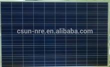 High Efiiciency CSUN 255W Polycrystalline Solar Panel