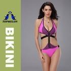 2015 Topmelon high quality one piece swimwear super sexy bikini swimsuit bathing suit