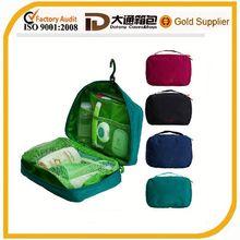 Nylon storage customize travel kits bag / toiletry bag / makeup bag