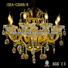 Classic Chandelier glass pendant light translate bahasa arab indonesia