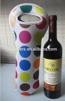 neoprene bottle cooler wine cooler tote bags insulated cooler bag