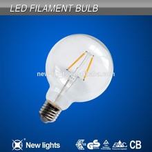 2014 Modern Design G95 Led Filament Lighting Bulb Lamp