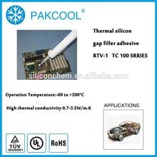 room temperature cure elastic caulk silicon gel 0.5 W/m.K