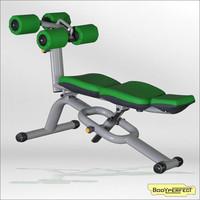 body crunch/Crunch Bench Sport Equipment/body crunch machine