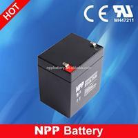 12V 4.5AH Valve Regulated Lead Acid Rechargeable 12V 4.5AH Battery