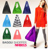 Custom single Japan BAGGU large shopping bag, portable waterproof printing shopping bag, advertising bag foldable shopping bag
