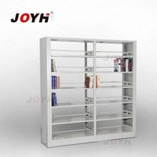 steel book shelf/double side library shelf / floating shelves